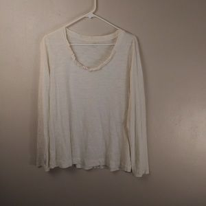 Ann Taylor Loft Basic Thin Shirt Size Large --W